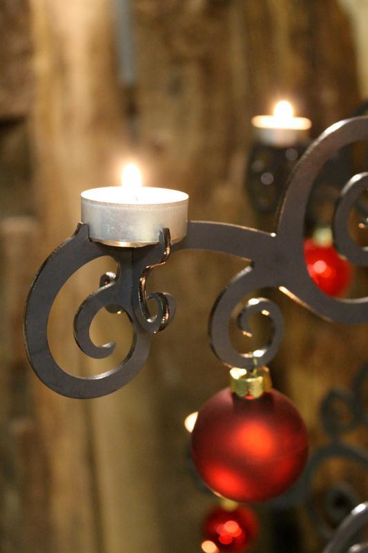 neue Aufnahme für Teelichter am Weihnachtsbaum